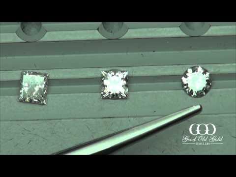Is a Round Diamond more brilliant than a Princess Cut?