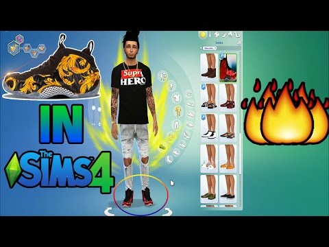 How To Get Nike Foamposites In The Sims 4! | [HD]