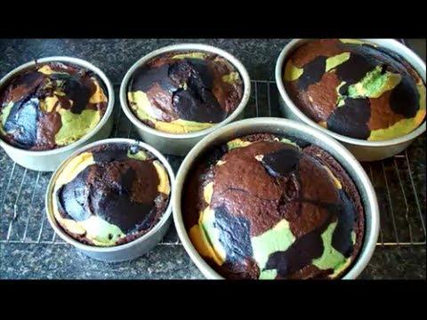How To Make Camo Cake!