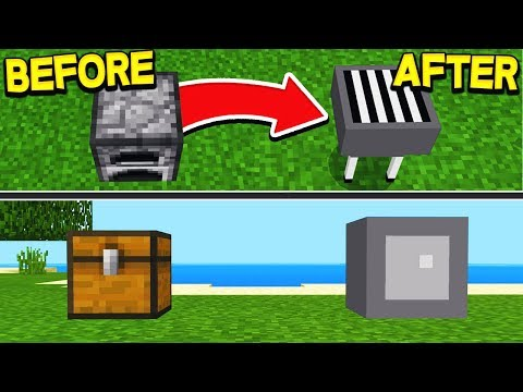 10 SECRET THINGS YOU CAN MAKE IN MINECRAFT! (POCKET EDITION)