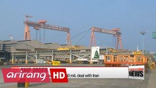 Hyundai Heavy seals US$650 mil. deal with Iran