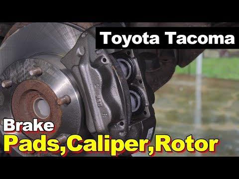 2004 Toyota Tacoma Front & Rear Brake Pads, Rotors, Calipers