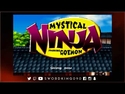 Nintendo 64 - Mystical Ninja Starring Goemon - Let's Play Livestream #1 - Let's Hope This Works.