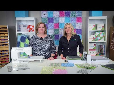 How to Make A Rag Quilt with the AccuQuilt Rag Die