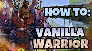 Classic Vanilla WoW Rogue Deep-Dive with LMGD | Classic WoW Rogue