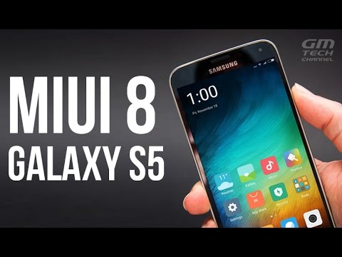 MIUI 8 for Galaxy S5 (6.0.1)(Stable ROM)