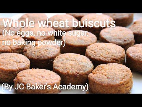 Whole wheat biscuits recipe - Biscuit recipe - Atta Biscuit Recipe - Crispy Whole Wheat Biscuits