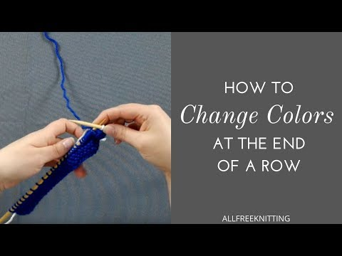 Changing Colors at the End of a Row