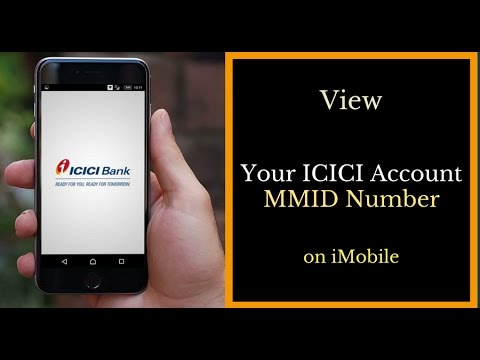 View Your ICICI Account MMID on iMobile