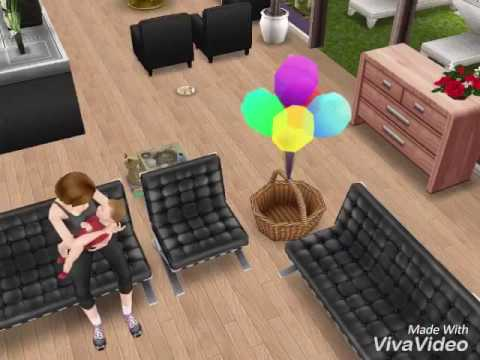 Sims Freeplay: Anna and Jackie Parker (music: Never forget you by Zara Larson)