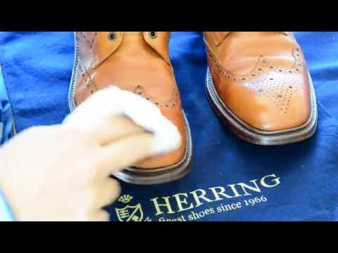 Polishing shoes part 2 - hi-shine