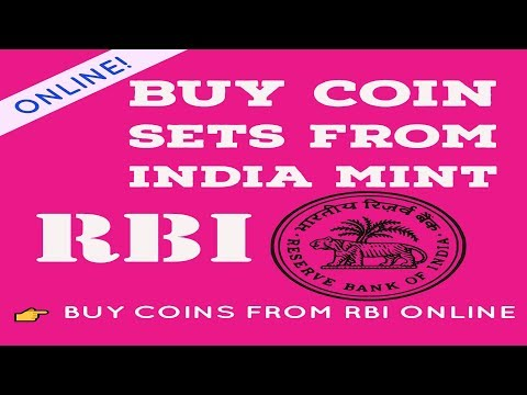 How To Buy Coin Sets From India Mints ( RBI ) Online | buy coins from rbi Viral Sach |