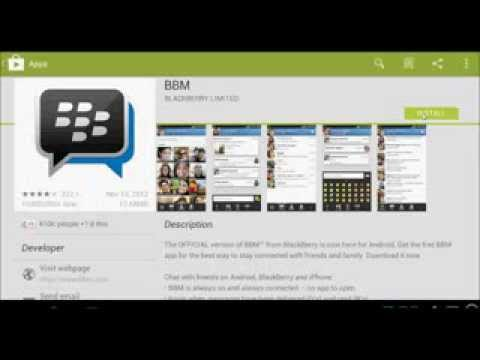 BBM on PC/Laptop in 2 mins! October 2016