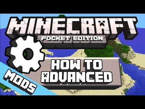 How to install MODS for Minecraft Pocket Edition | ADVANCED