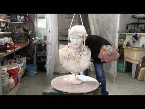 How To Restore Marble Busts and Statues: A Bust of Caesar Augustus