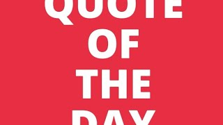 Introducing Quote Of The Day
