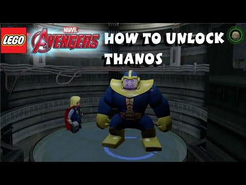 Lego Marvel Avengers - How to Unlock Thanos 1080P HD