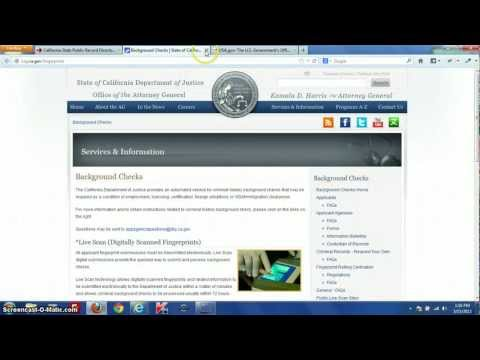 Official California Public Records Search