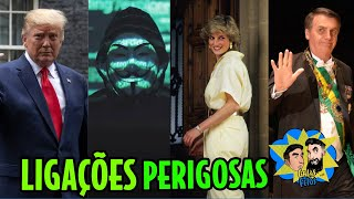 Anonymous liga Bolsonaro a Trump, Diana e Strokes | Galãs Feios