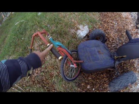 Crash Left Drift Trike Disabled