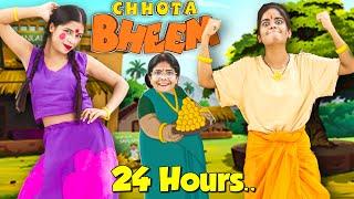 Living like Chhota Bheem \u0026 Chutki in Real Life For 24 Hours.. *funniest challenge*🤣🤣