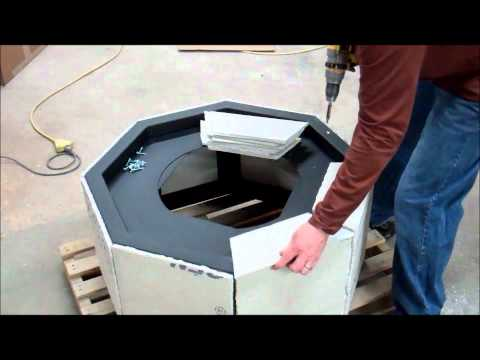 DIY Instructions How to build a gas fire pit