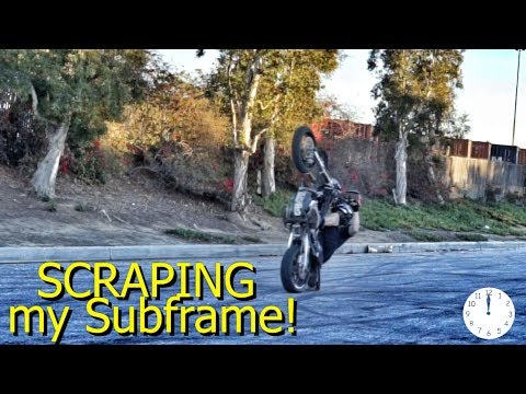 Going PAST 12 O'clock on the Supermoto!