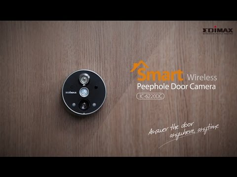 Edimax IC 6220DC Installation Guide   Smart Wireless Peephole Door Camera  India