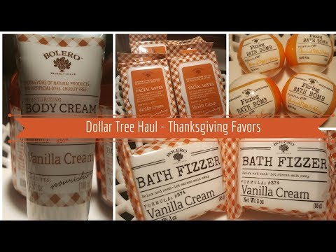Dollar Tree Haul - Thanksgiving Favors