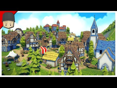 THIS IS MY KINGDOM! - Foundation Gameplay (Medieval City Builder)