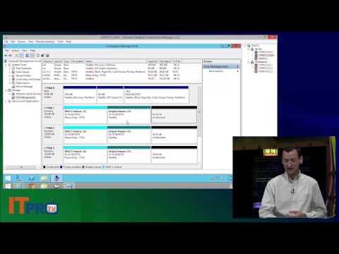 Managing Windows Dynamic Disks and Volumes
