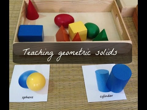 5 fun, hands-on ways to teach 3D geometric shapes to toddlers / preschoolers (with FREE printables)