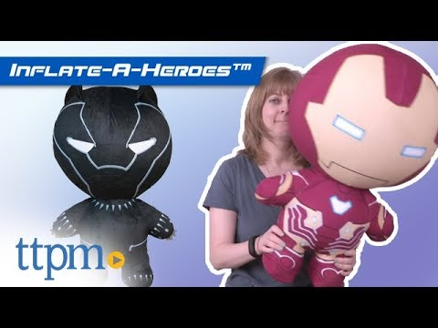 Inflate-A-Heroes: Iron Man, Spider-Man, Black Panther, Groot and Hulk | DGL Toys