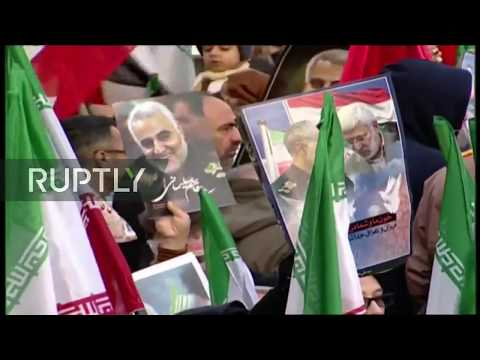 Xxx Mp4 LIVE Funeral For Iran 39 S Quds Force General Soleimani In The Iranian City Of Tehran 3gp Sex