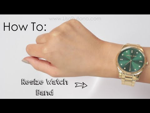 DIY Resize Watch at Home