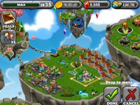 DragonVale How to Breed Blue Moon Dragon