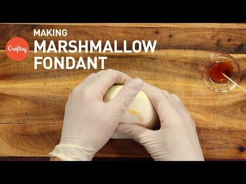 Tips for Making Marshmallow Fondant   Cake Decorating Tutorial