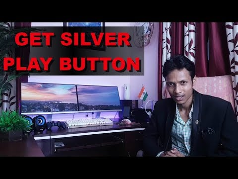 How to get YouTube Creator Awards - Silver Gold & Diamond Play Button
