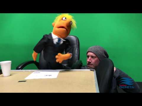 Behind the scenes: Puppet Show - April 2017