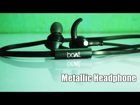 Best Budget HeadPhone with Mic | boAt BassHeads 225