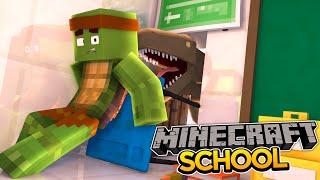 Minecraft School S2 : DINOSAURS IN THE SCHOOL!!