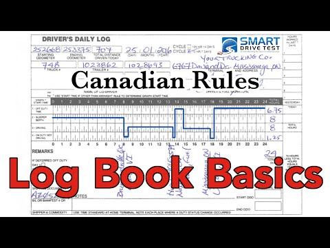Log Books | Canadian Rules
