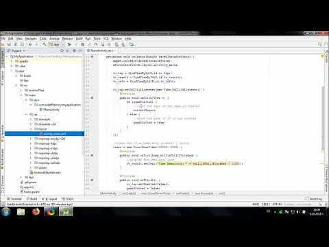 Develop Fast Tapping Game in Android Studio