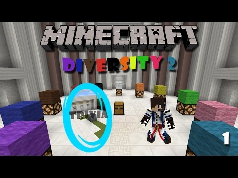 Minecraft Map : Diversity 2 (Part 1) - Trivia Branch
