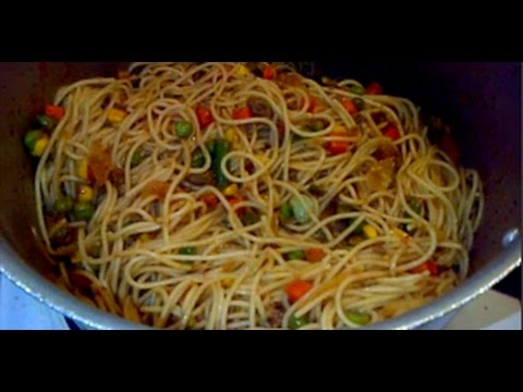 Spaghetti with minced meat & mixed veggie | MATV