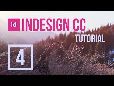 InDesign CC Tutorial #4 - Text Wrap