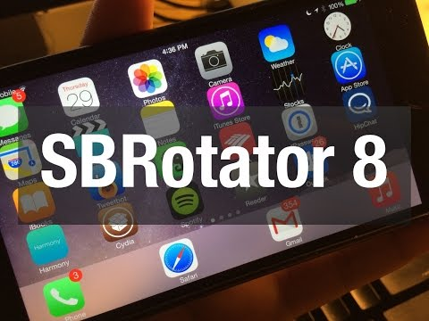 New Tweak: SBRotator for iOS 8