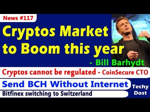 Cryptos Market to boom this year - CEO of Abra, CoinText - Send Bitcoin Cash Without the Internet