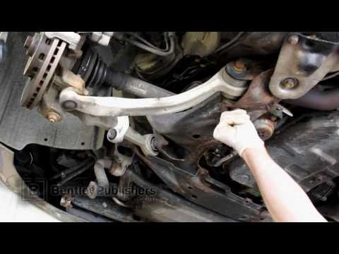 Audi A6 (C5) 1998-2004 - Front lower control arm replacement - DIY Repair