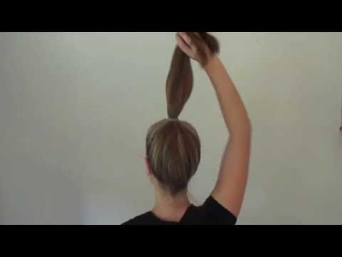 How to create an elegant, stylish bun in less than 2 minutes